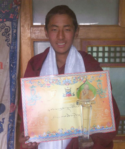 Lobsang Tenpa in an undated photo.