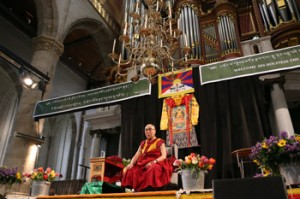 His Holiness the Dalai Lama Travels from Oslo to Rotterdam