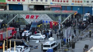 Train station bombing kills three in East Turkistan