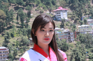 Tenzin Yangzom Palkhang, Miss Tibet 2014.