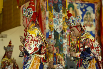 Kalachakra Empowerment – the Offering Dance