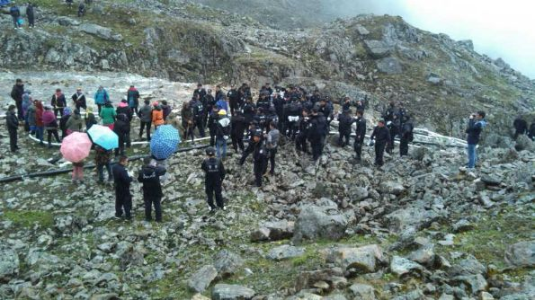 Tibetans beaten and detained for protesting against mining at sacred hill