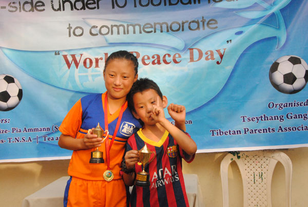 Best players: Yeshi Tsogyal(L) and Shiwa (R)