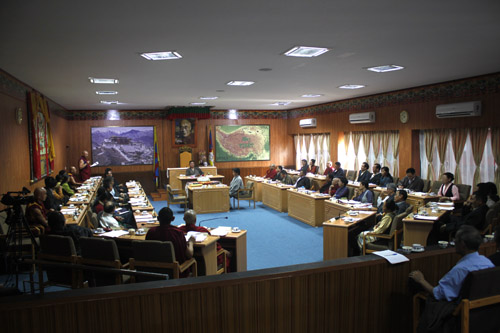 8th session of the 15th Tibetan Parliament-in-exile begins