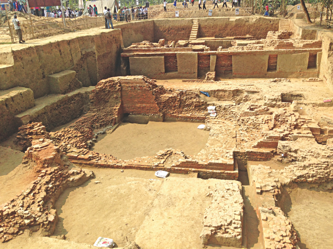 Going back to Atish Dipankar Era, 1,000-year-old Buddhist temple found in Munshiganj