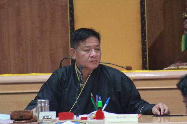 Penpa Tsering, Speaker of Tibetan Parliament-in-Exile.