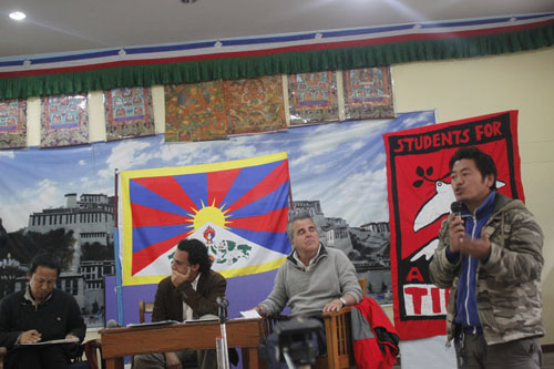 Talk and discussion on landmark Spanish lawsuit on genocide and crimes against humanity in Tibet held in Dharamsala