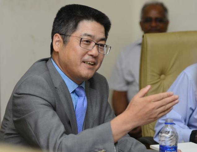 Ambassador Le Yucheng. Photo: R Ravindran.