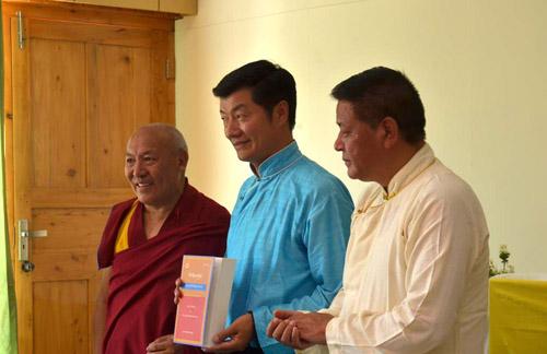 Tibetan translation of 'Authenticating Tibet' launched