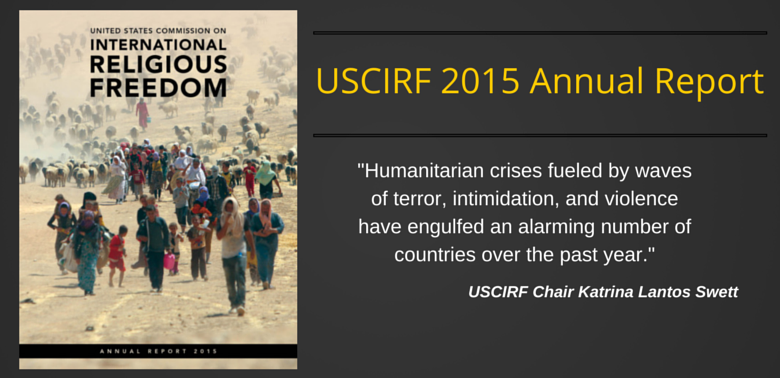 """China imposes """"harsh policies of repression on Buddhists"""" across Tibet plateau: USCIRF Annual Report 2015"""