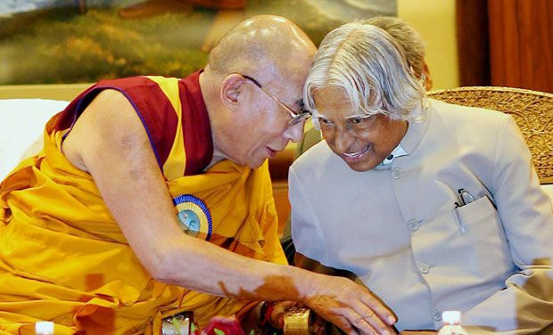 Dr A P J Abdul Kalam no more, His Holiness and Sikyong Sangay condole his demise
