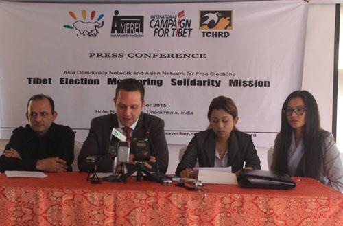 Democracy defenders laud Tibetan electoral process, calls it building of 'borderless democracy'