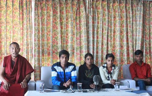 Indian slum children say Tibetan NGO completely changed their lives