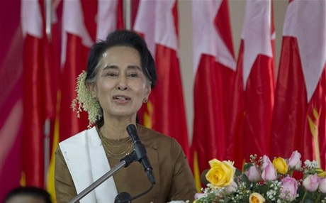 Suu Kyi's Parliament of Prisoners Takes Power in Burma