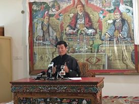 Sikyong Sangay urges China to negotiate with representatives of His Holiness after 28th task force meeting