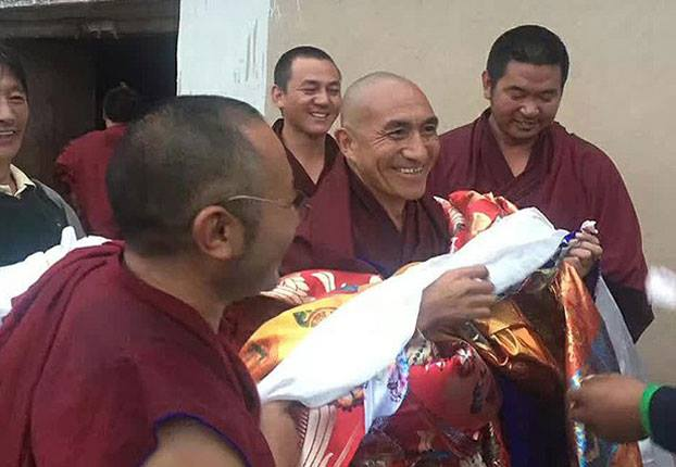 Tibetan monk released after seven and half years'imprisonment