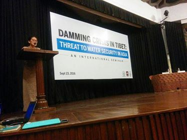 SFT-India holds International Seminar on 'Damming Crisis in Tibet'