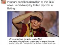 Trump's top advisor calls news claiming Donald Trump declined Dalai Lama's meeting request fake, demands retraction