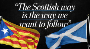 As Scotland relaunches its independence bid, Catalonia has its own plan