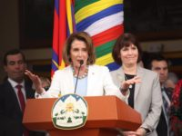 House Democratic leader Nancy Pelosi says Tibetans will not be silenced