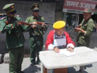 Tibetans protest against China's use of 'Seventeen-Point Agreement' to legitimize control over Tibet