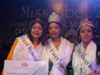 Tenzin Paldon crowned Miss Tibet 2017, final pageant under Lobsang Wangyal production