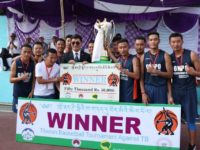 Lugsum team from Bylakuppe wins Tibetan Basketball Tournament held in Dharamsala