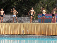 Mr Tibet 2017 kicks off with 'Swim Trunk' round and pool party