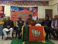 BJP's Himachal Pradesh Assembly election candidate addresses local Tibetans in Dharamsala