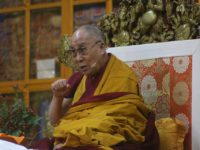 His Holiness confers teaching on Tsongkhapa's 'The Three Principal Paths'