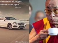 Mercedes issues dual apology for quoting Dalai Lama on Instagram