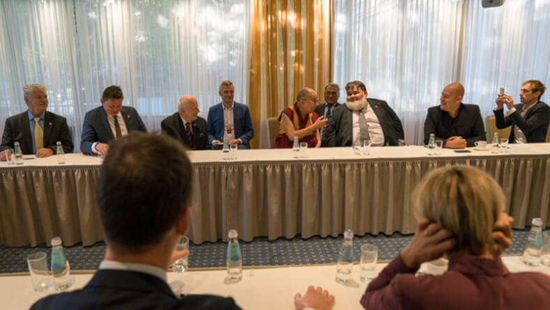 Meeting with Baltic States Parliamentarians & Continuation of Teachings