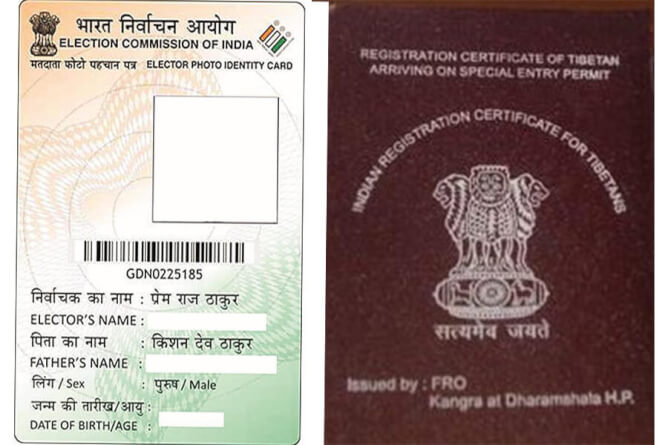 Tibetans holding Indian voter ID cards should surrender their RC within one month: Kangra SP