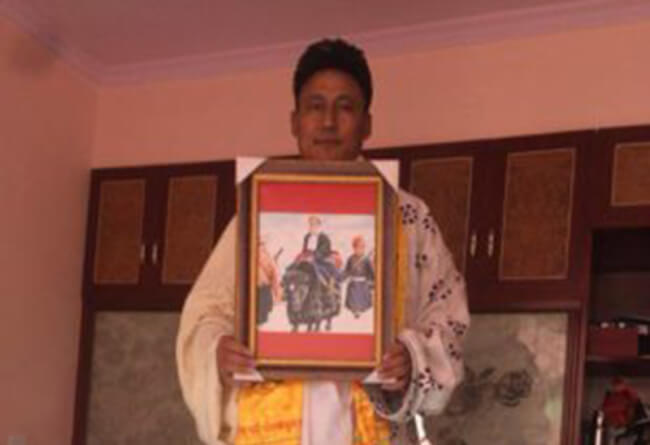 Missing former Tibetan political prisoner traced, locked in Chinese prison