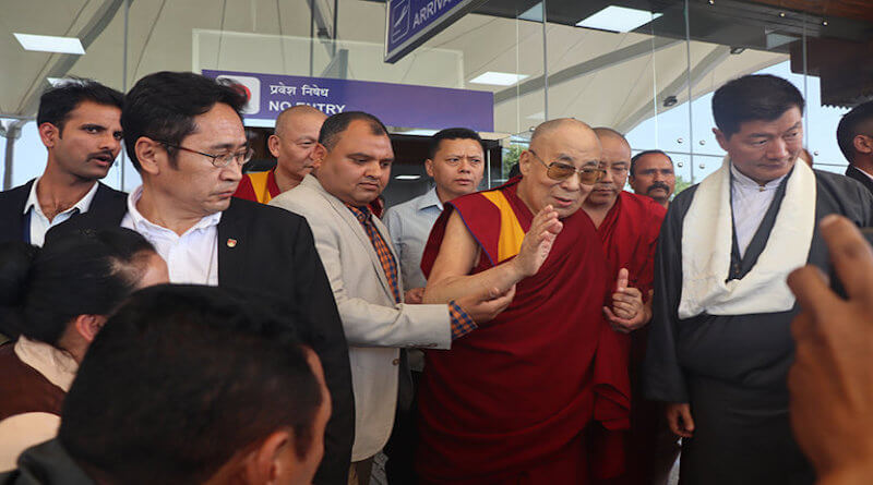 His Holiness the Dalai Lama returns to Dharamsala hale and hearty