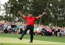 'It's come full circle': Tiger Woods pulls off the impossible and mirrors scenes from 1997 by pulling his children into emotional embrace after winning the Masters… just as he did with his father 22 years ago